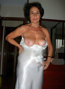 Cheerful and busty housewives showing..
