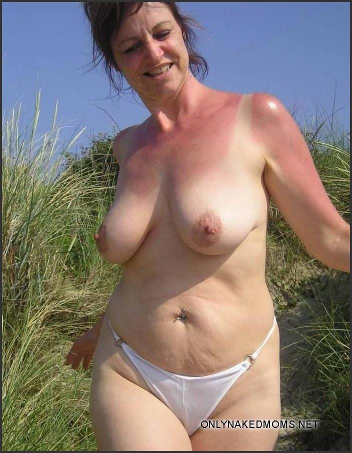 Nude busty granny