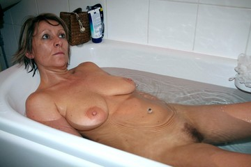Bathroom homemade mature wife