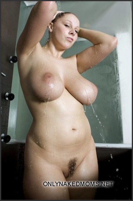 Mom in the shower xxx