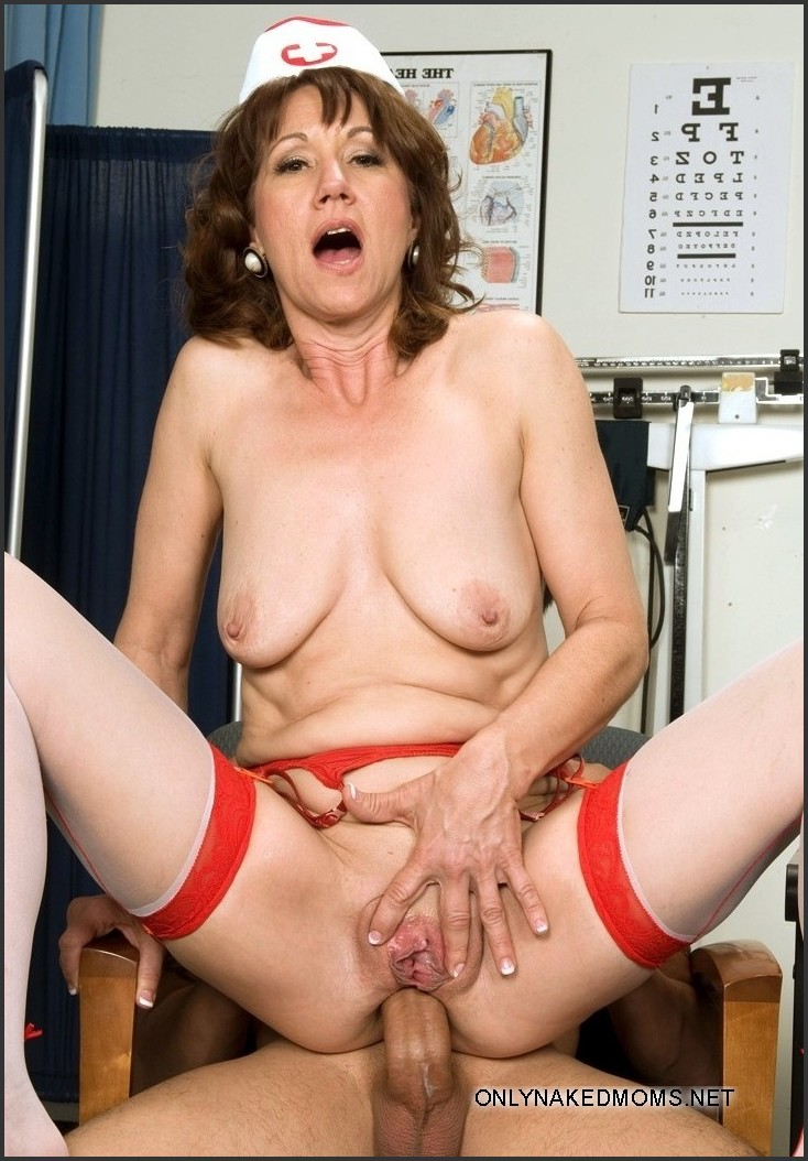 Mature nurse anal