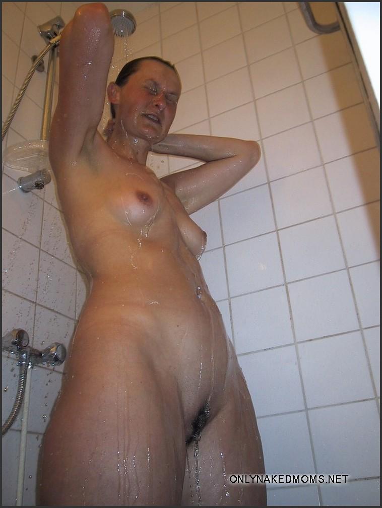 Big tits white stockings