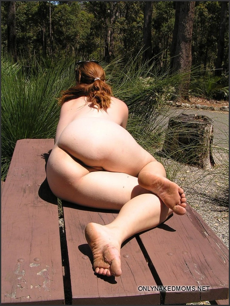 Chubby naked outdoor, nicki thomas nude playboy