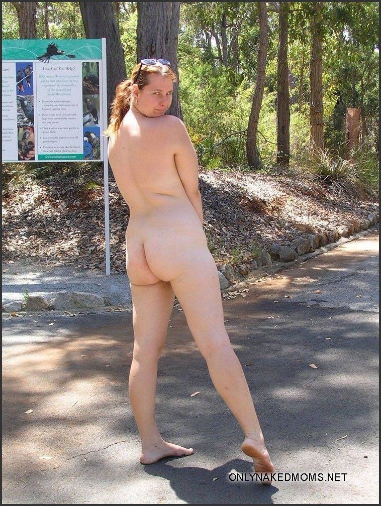 Right! Milf mom outdoor nudity