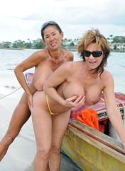 Lesbian asian granny