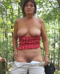 European naked women mature